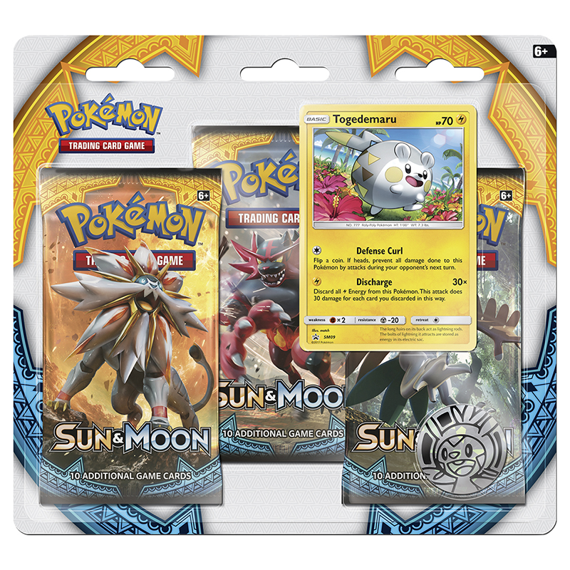 Pokemon Sun & Moon Bluster Pack - 3 pack