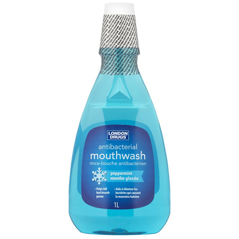 London Drugs Antibacterial Mouthwash - Peppermint - 1L