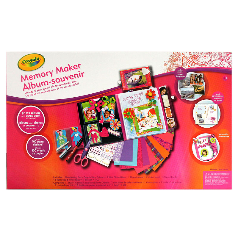 Memory Maker Scrapbook Album