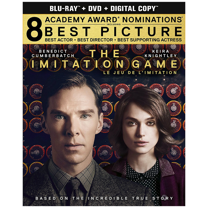 Imitation Game - Blu-ray + DVD + Digital Copy
