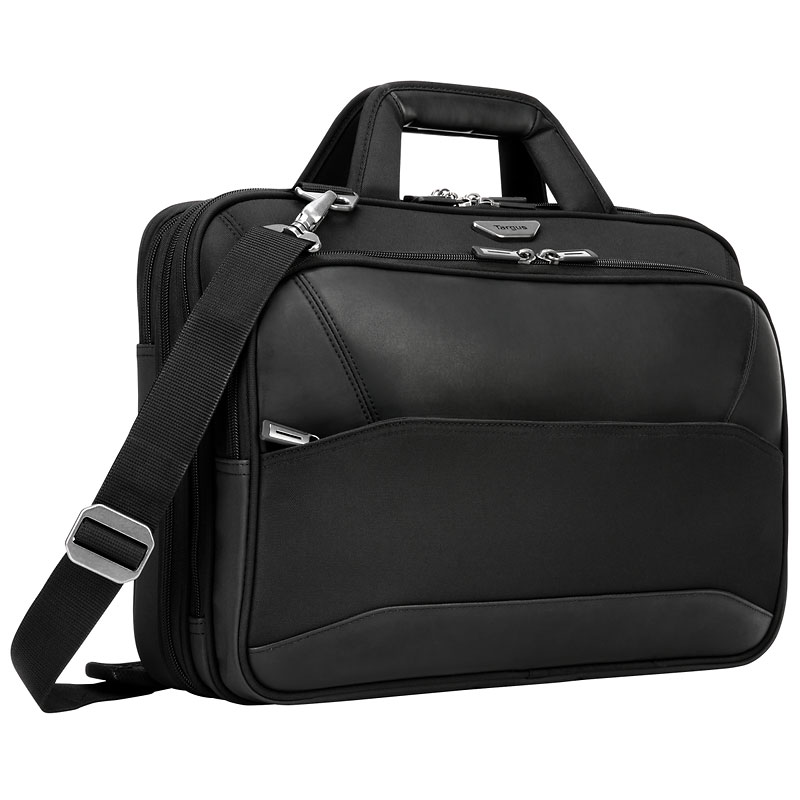 Targus Mobile ViP Checkpoint-Friendly Topload Laptop Case - Black - 15.6 Inch - TBT264CA