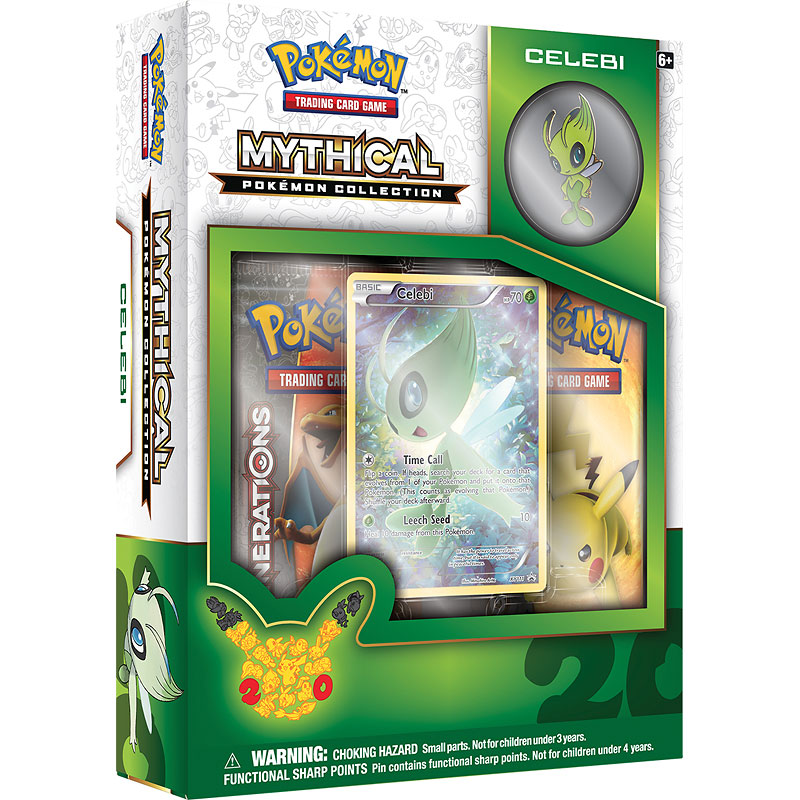 Pokemon Mythical Collection - Celebi - Assorted