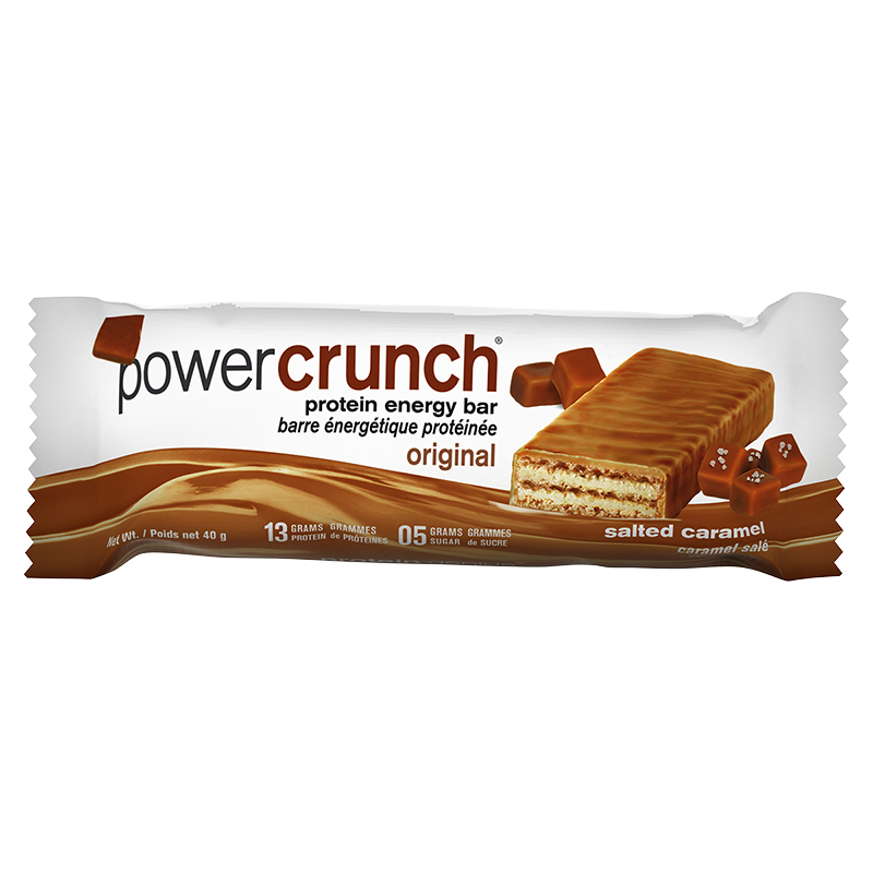 Power Crunch Protein Energy Bar - Salted Caramel - 40g