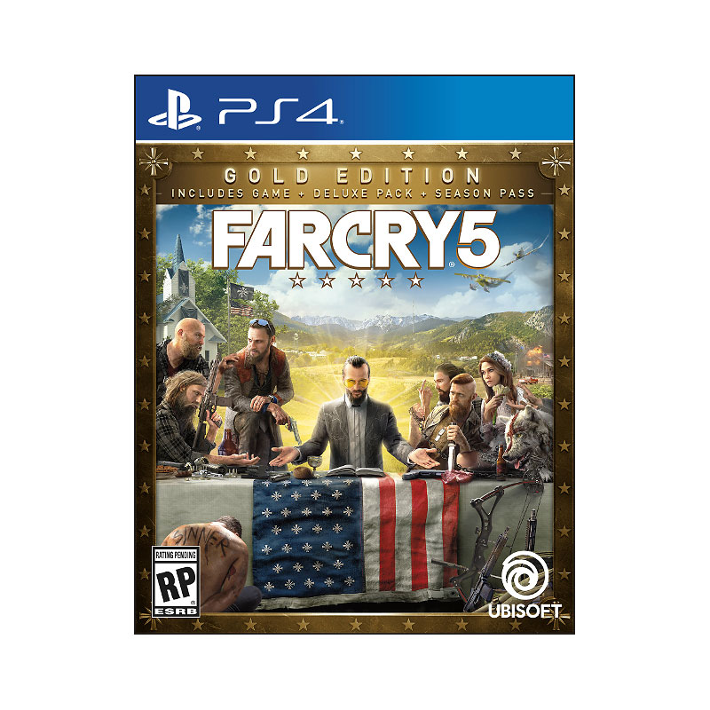 PS4 Far Cry 5 Steelbook Gold Edition
