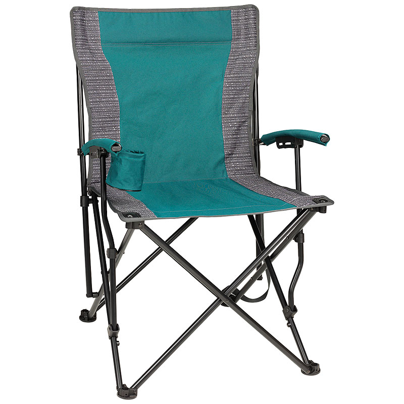 Heavy Duty Folding Chair with Cup Holder - 300lb Max
