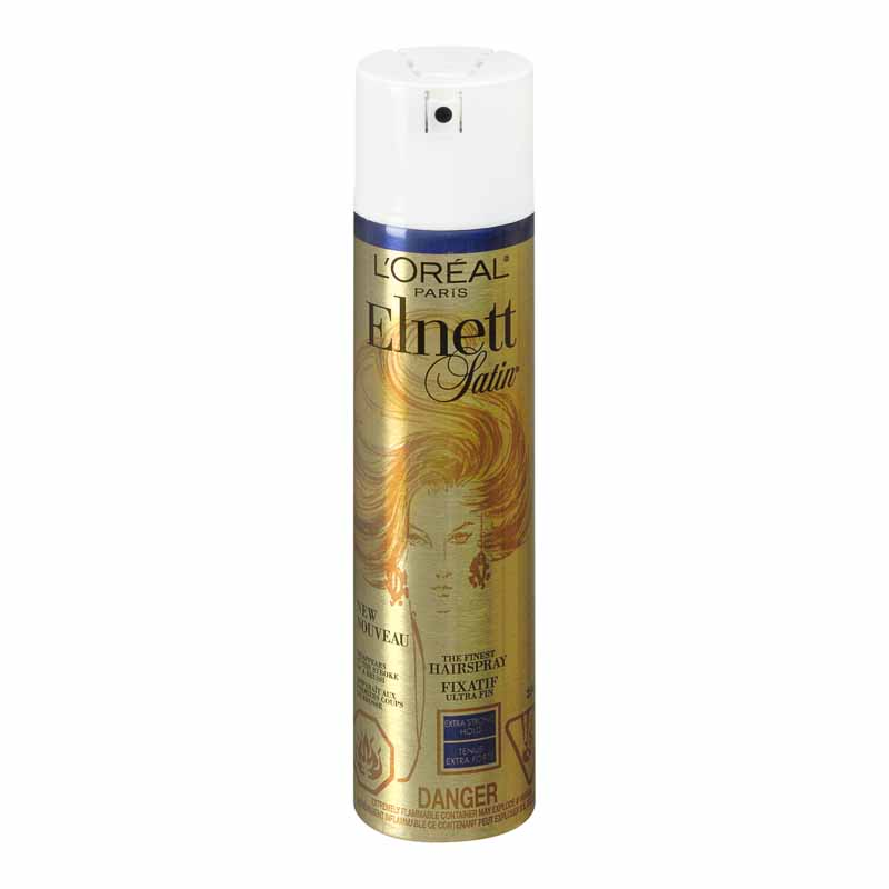 L'Oreal Elnett Satin Hairspray - Extra Strong Hold - 250ml