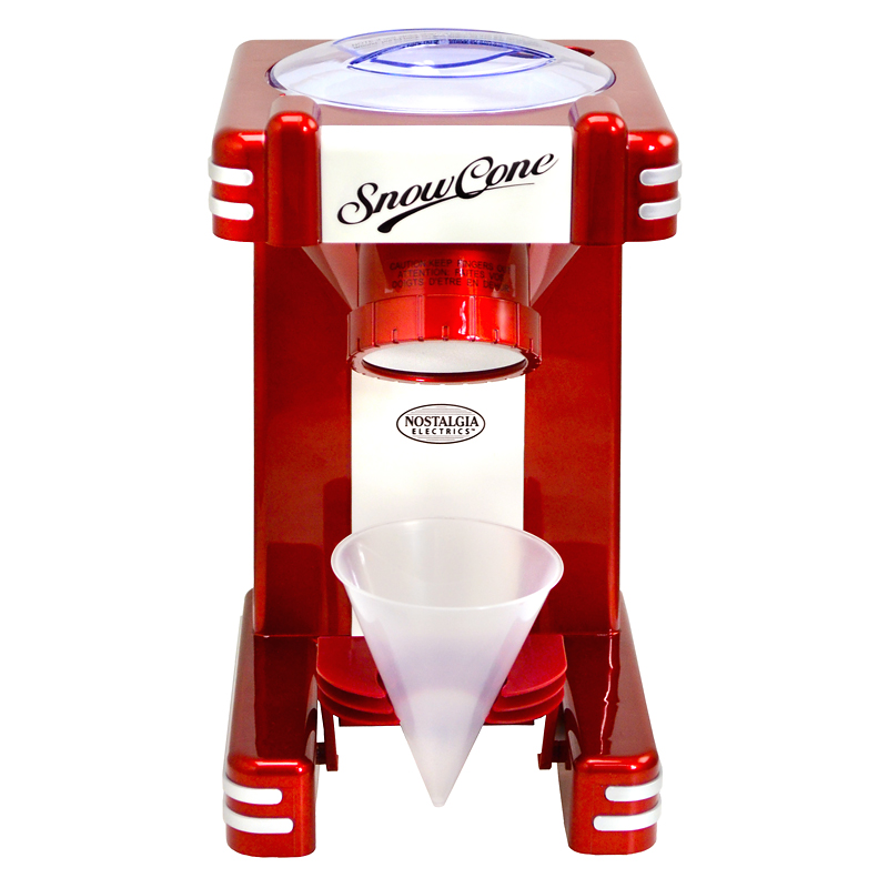 Nostalgia Snow Cone Maker - Red - RSM702