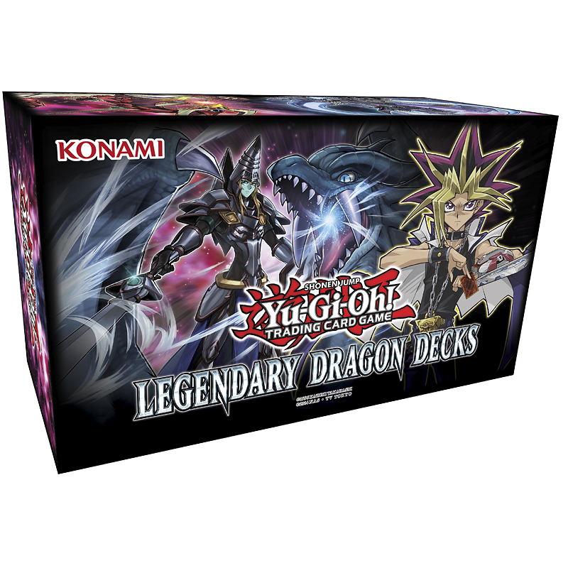 Yu-Gi-Oh Legendary Dragon Decks