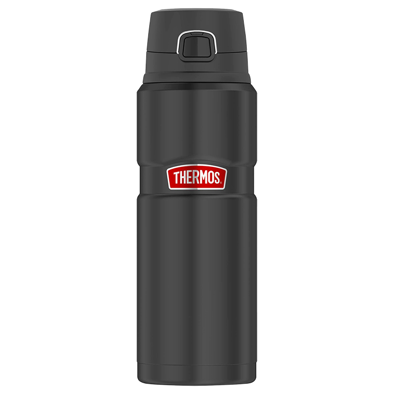 Thermos Stainless King Water Bottle - Black - SK4000BKR4C