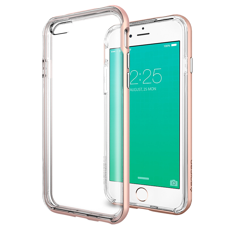 Spigen Neo Hybrid EX Case for iPhone 6/6s - Rose Gold - SGP11725