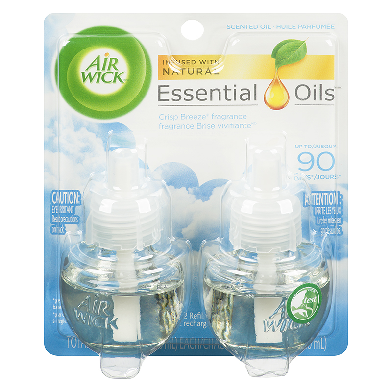 Air Wick Scented Oil Refill - Crisp Breeze - 2 x 21ml