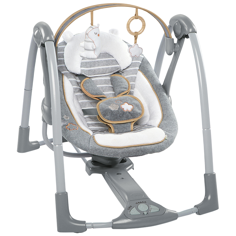 Ingenuity Boutique Collection™ Swing 'n Go Portable Swing™ - Bella Teddy™