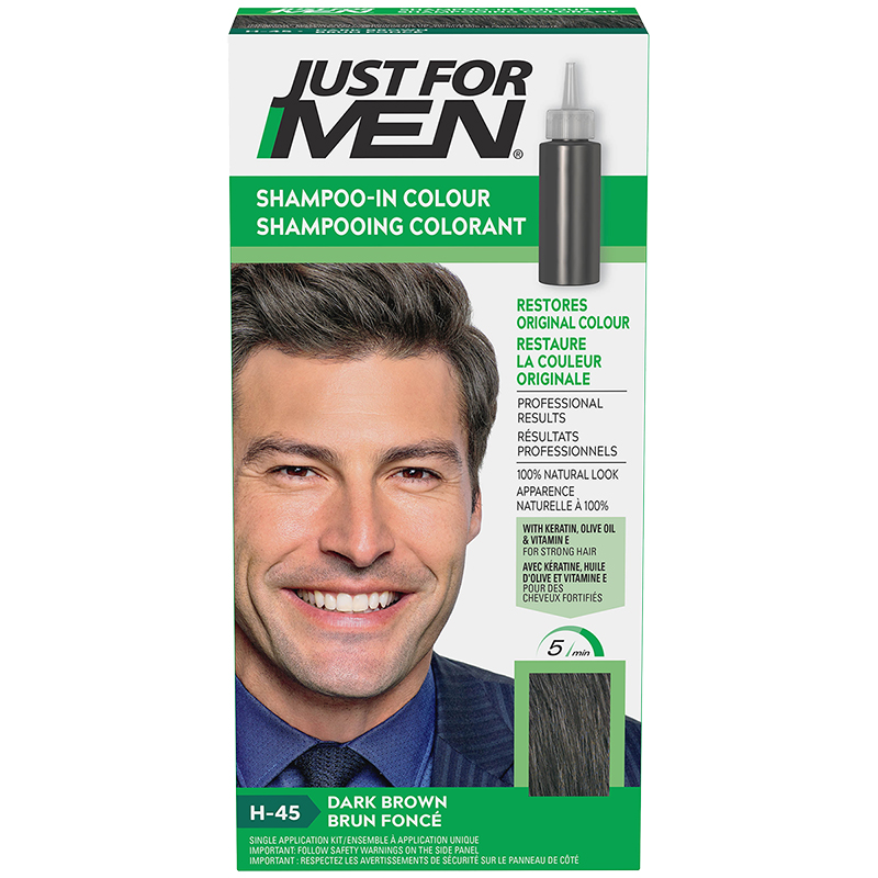 Just for Men Shampoo-in Hair Colouring - Dark Brown