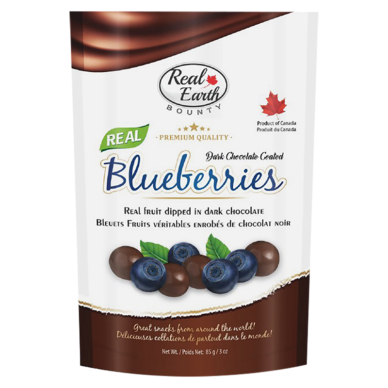 Real Earth Bounty Dark Chocolate - Blueberries - 85g