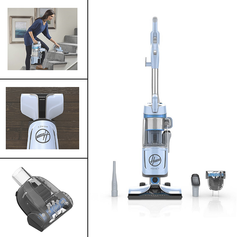 Hoover React Quicklift Vacuum - Blue - UH73300CA