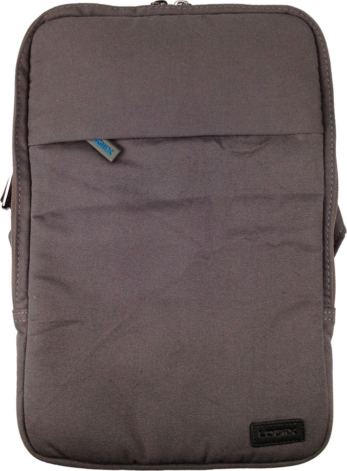 Logiix Canvas Vertical Bag for Tablets and Ultrabooks up to 11inch