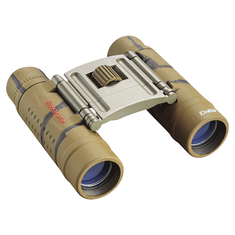 Tasco Essentials 10X25 Binoculars - Camo - 168125B