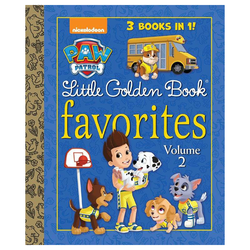 Paw Patrol Little Golden Book Favourites Volume 2