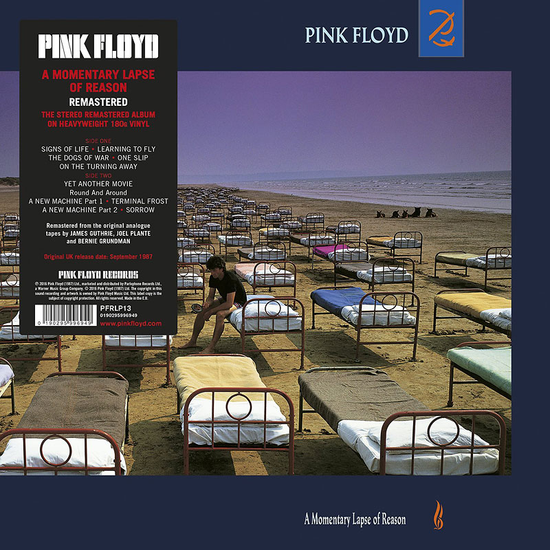 Pink Floyd - A Momentary Lapse of Reason - Vinyl