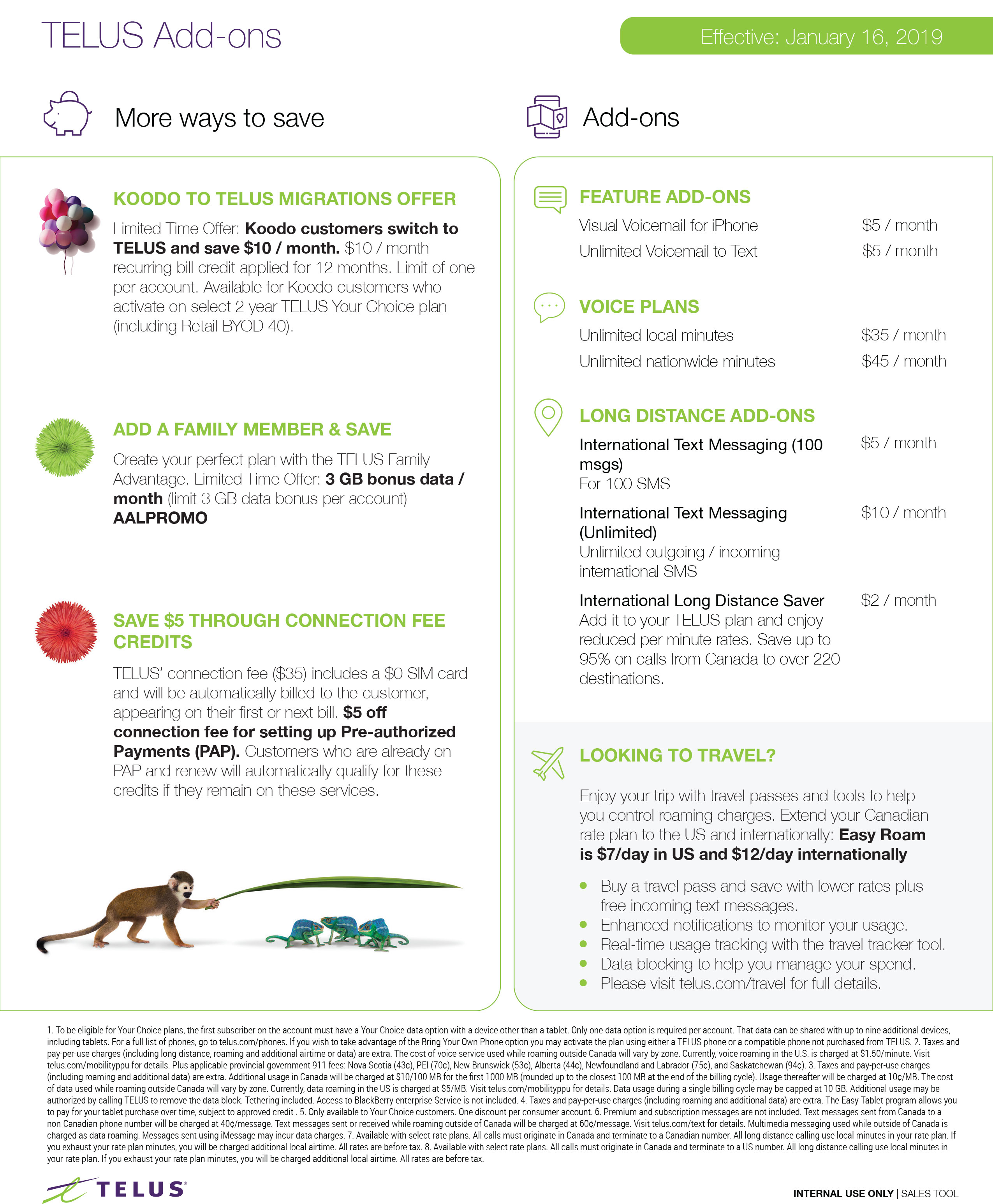 Telus Rate Plan 2