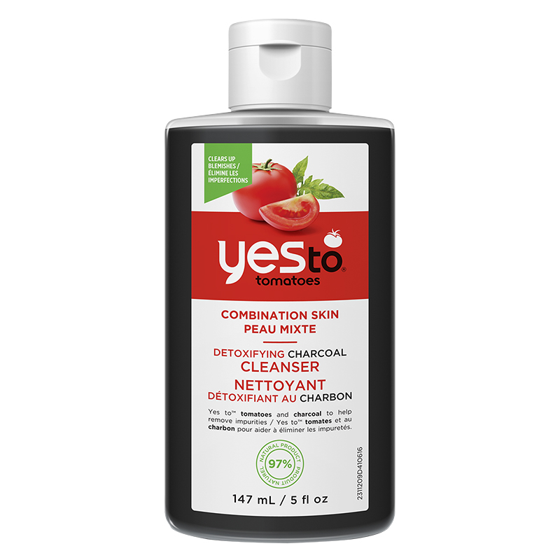 Yes To Tomatoes Detoxifying Charcoal Cleanser - 147ml