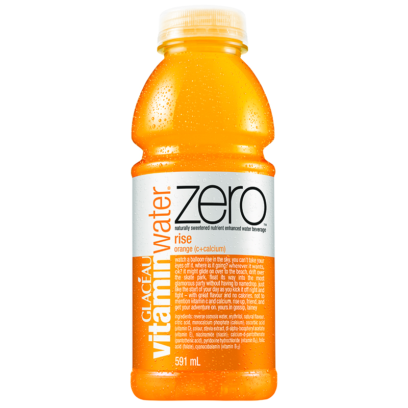Vitamin Water Zero - Rise - 591ml