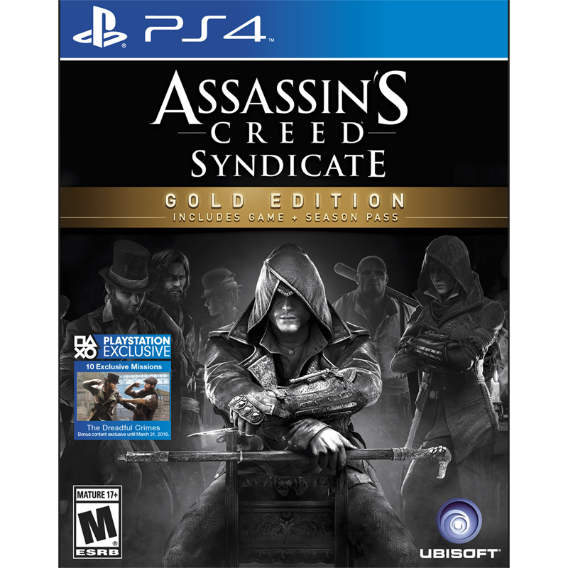 PS4: Assassin's Creed: Syndicate - Gold Edition