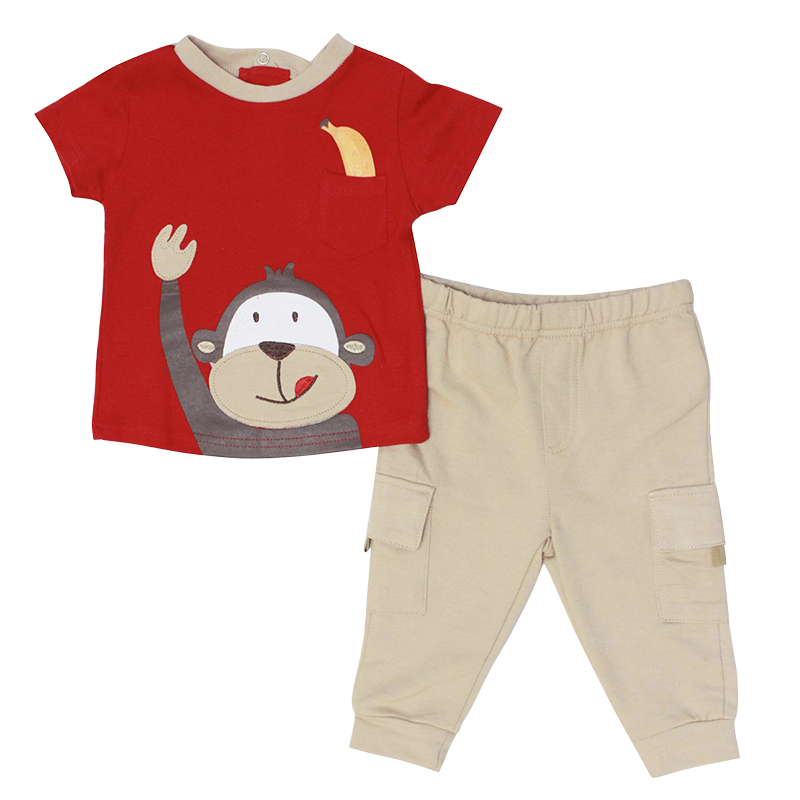 Baby Mode 2-Piece Outfit - Boys - 12-24 months - Assorted