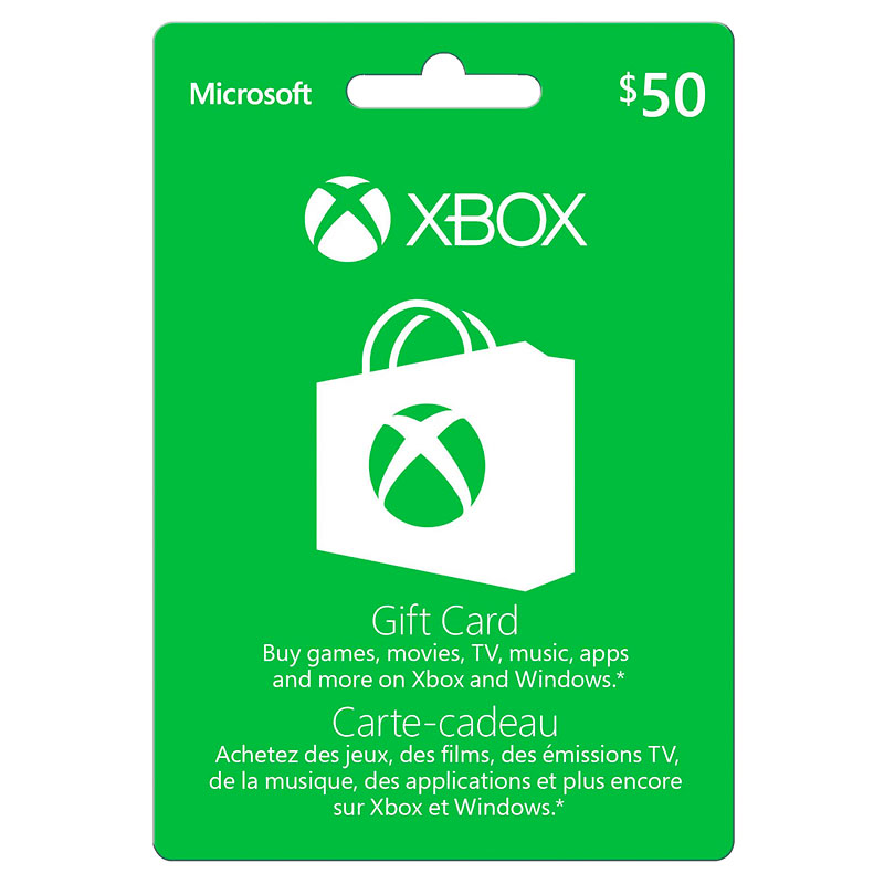 Xbox Gift Card - $50