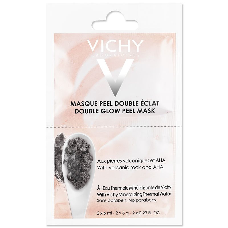 Vichy Sachet Duo Double Glow Peel Mask - 2x6ml