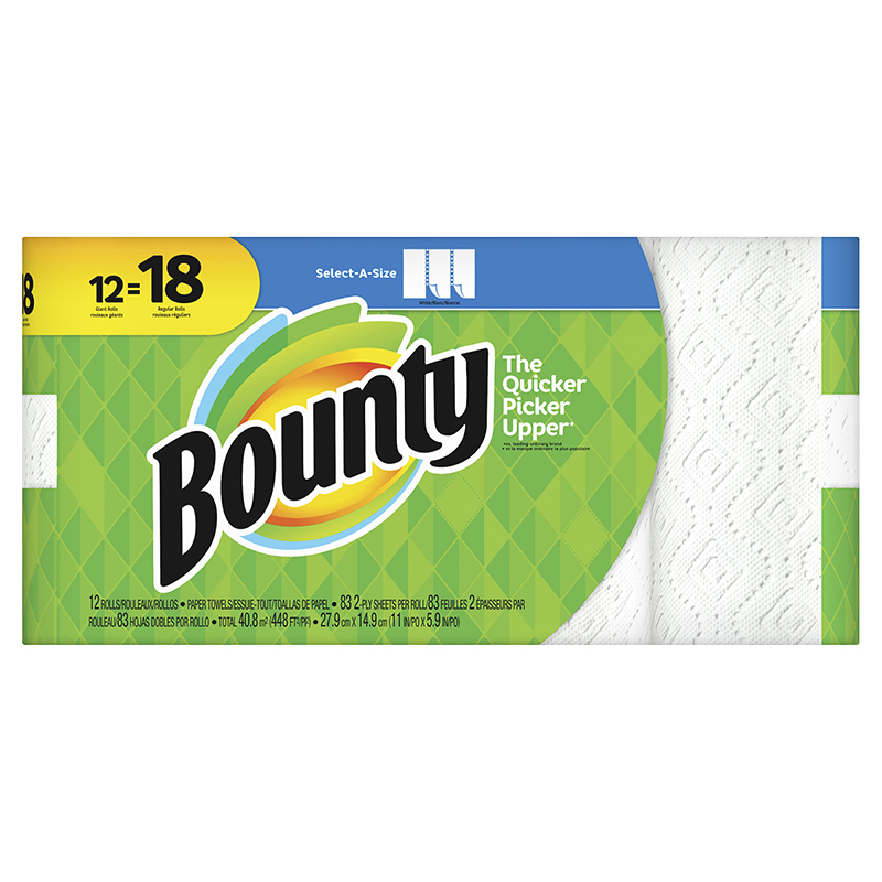 Bounty Paper Towels Select-A-Size - 12's