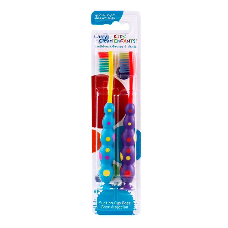 Carry Clean Kids Toothbrush - Twin Pack