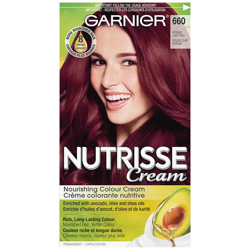 Garnier Nutrisse Permanent Hair Colour 660 Merlot London Drugs