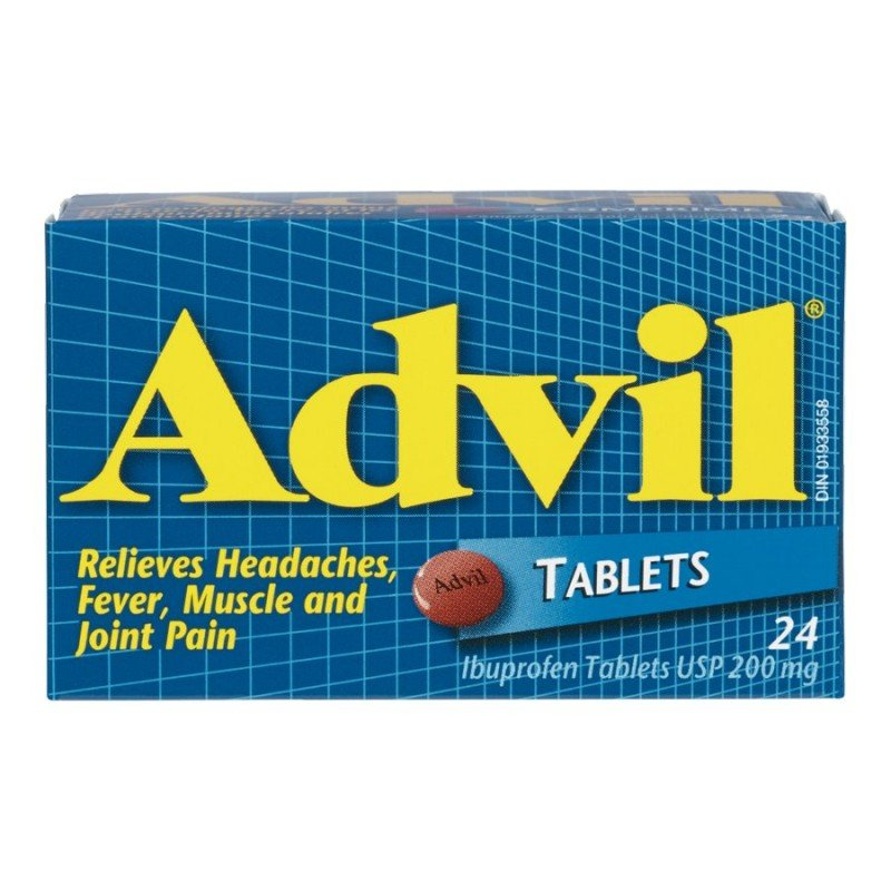 Advil Ibuprofen Tablets - 24's