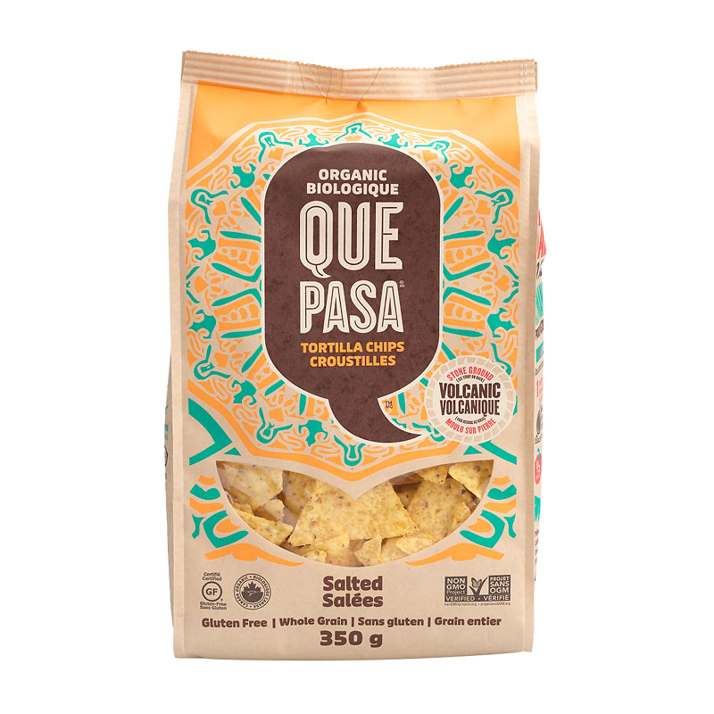 Que Pasa Tortilla Chips - Salted - 350g
