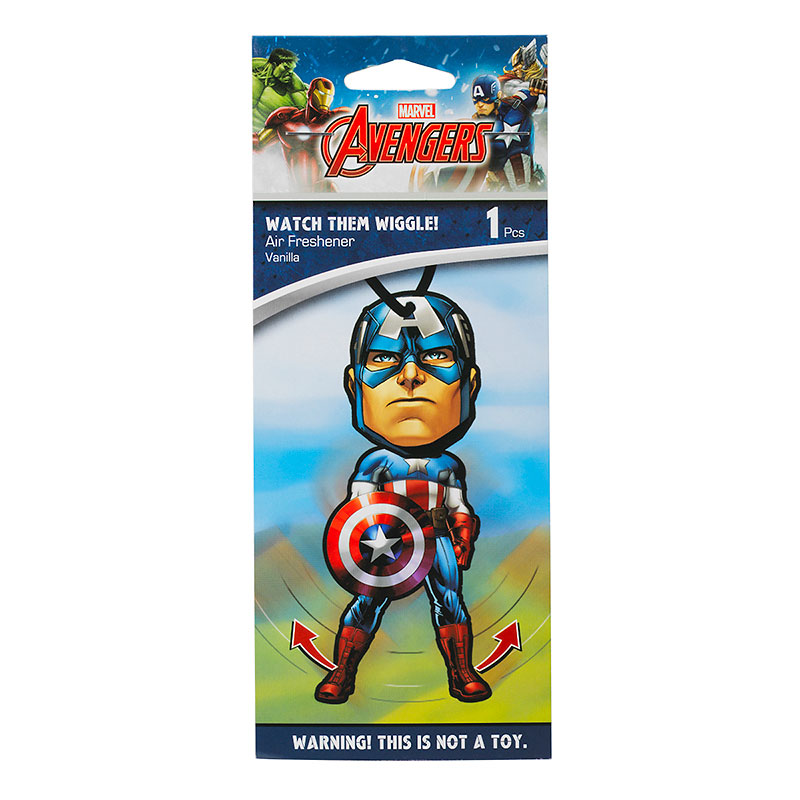 DC Marvel Comics Air Freshener - Captain America