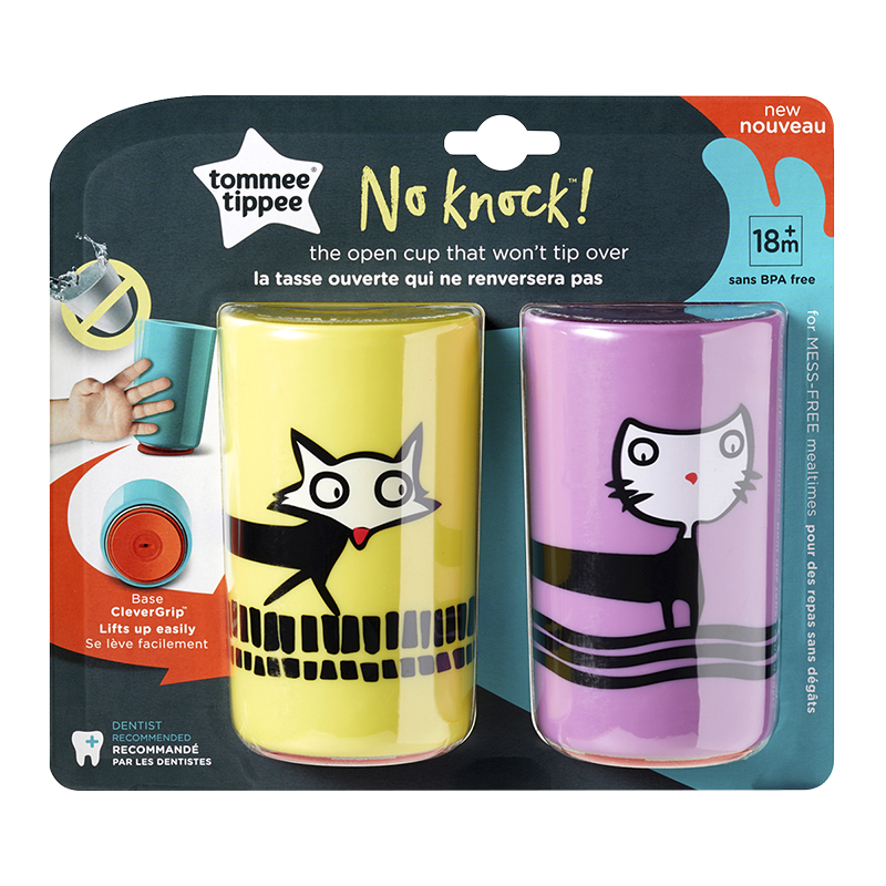 Tommee Tippee No Knock Cup - Large - 2 pack