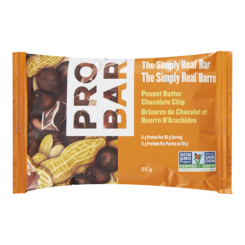 Probar The Simply Real Bar - Peanut Butter Chocolate Chip - 85g