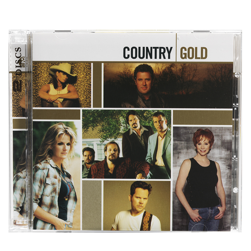 Various Artists - Country Gold - 2 Disc Set