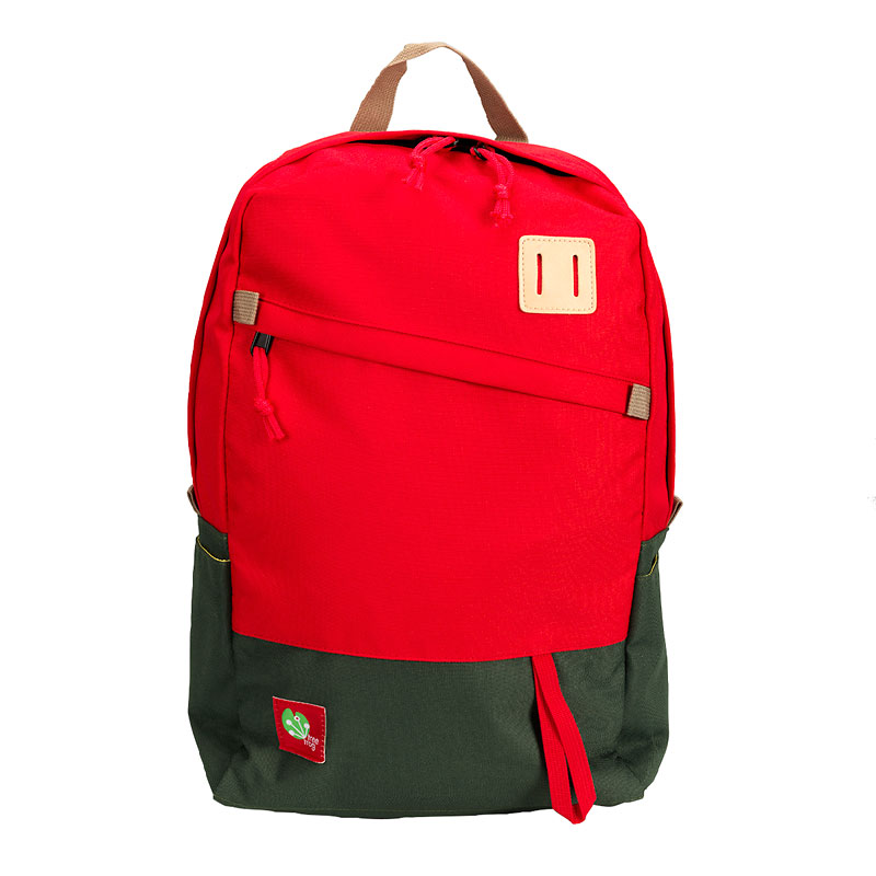 Tree Frog Fashion Laptop Notebook Backpack - Red - 15 Inch - KLB1340R-RG