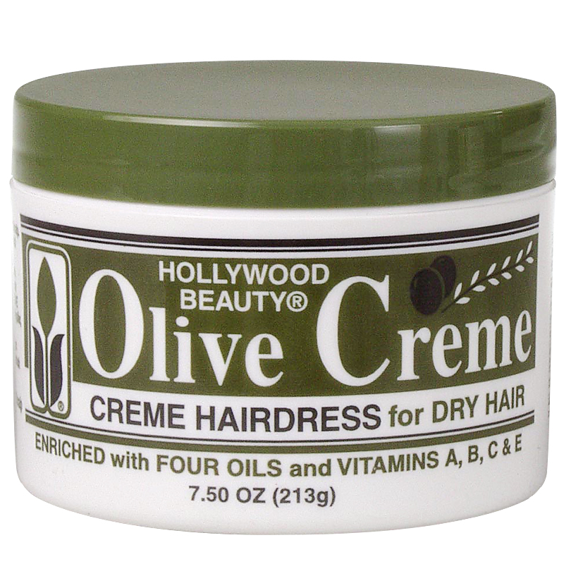 Hollywood Beauty Olive Creme Hairdress - 213g