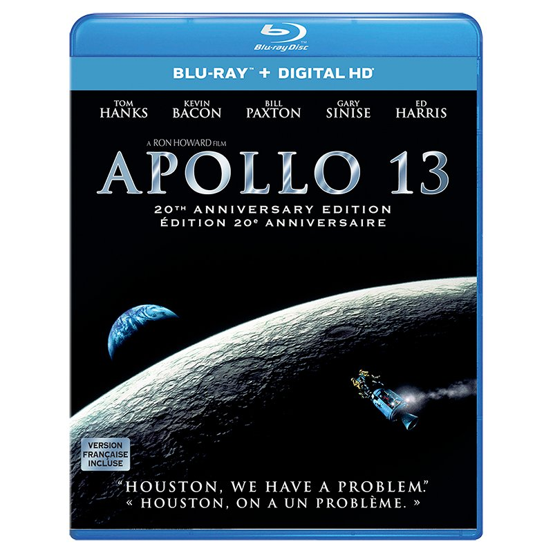 Apollo 13: 20th Anniversay Edition - Blu-ray
