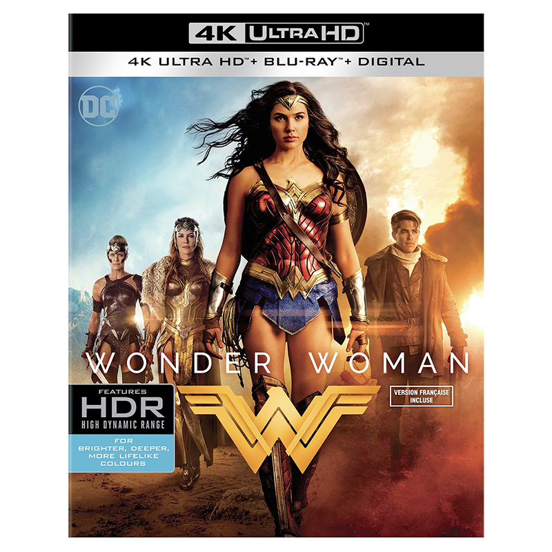 Wonder Woman - 4K UHD Blu-ray