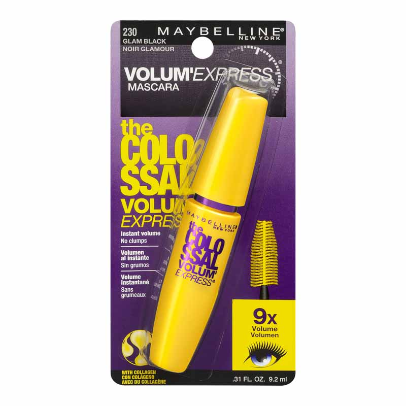 Maybelline Volum'Express the Colossal Mascara - Glam Black