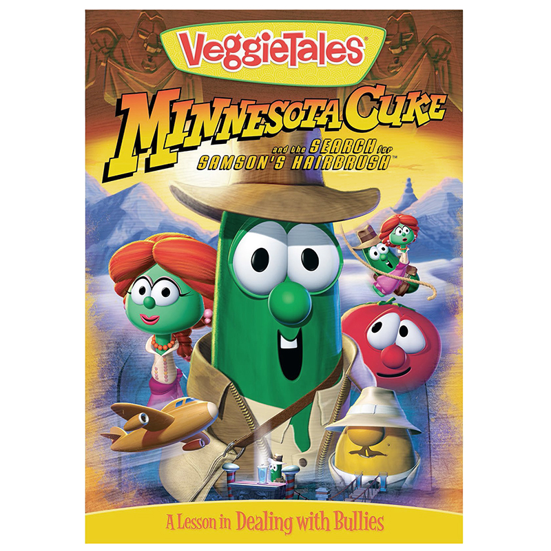 VeggieTales: Minnesota Cuke and the Search for Samson's Hairbrush - DVD