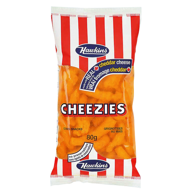 Hawkins Cheezies - 80g