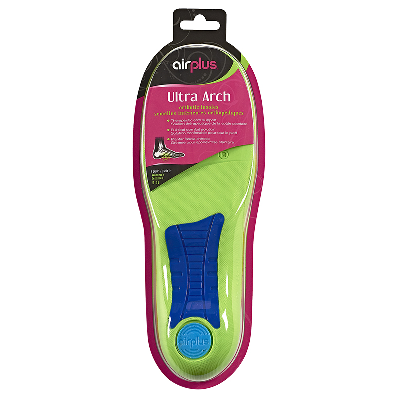 Airplus Ultra Arch Orthotic Insoles Women's - 5-11