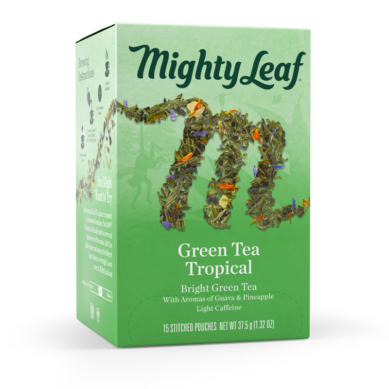 Mighty Leaf Tea - Green Tea Tropical - 15 Pack