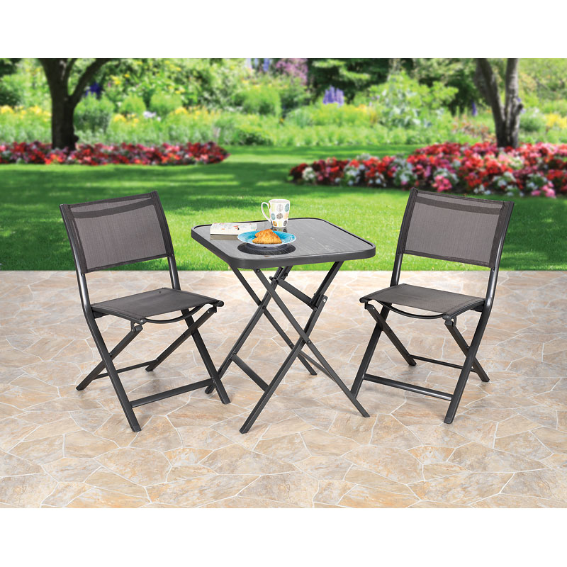 London Drugs Folding Aluminum Patio Set - 3 piece