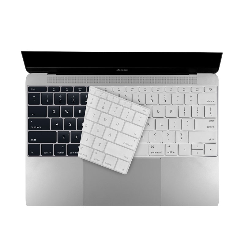 Logiix Phantom Keyboard Shield - MacBook 12 and Pro 13 - Silver - LGX-12764